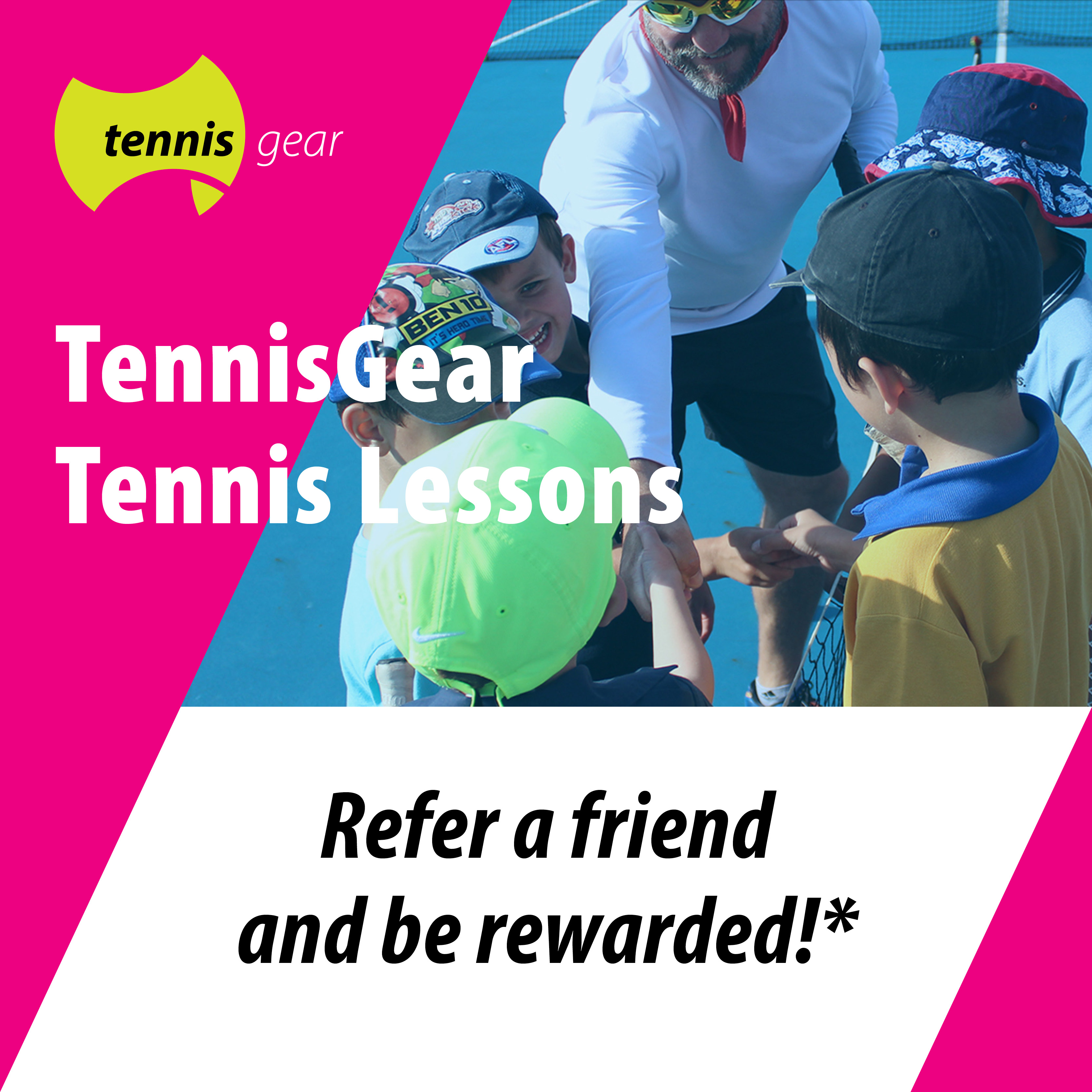 Referral Program Playford Tennis Centre
